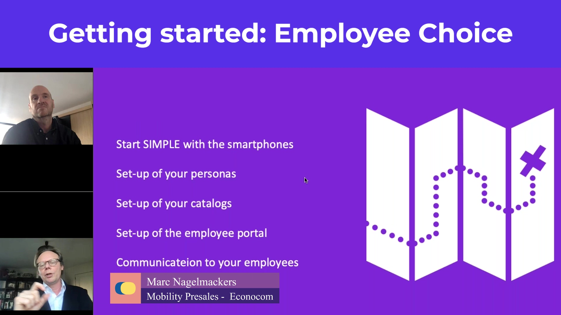webinar plan cafet - getting started with employee choice