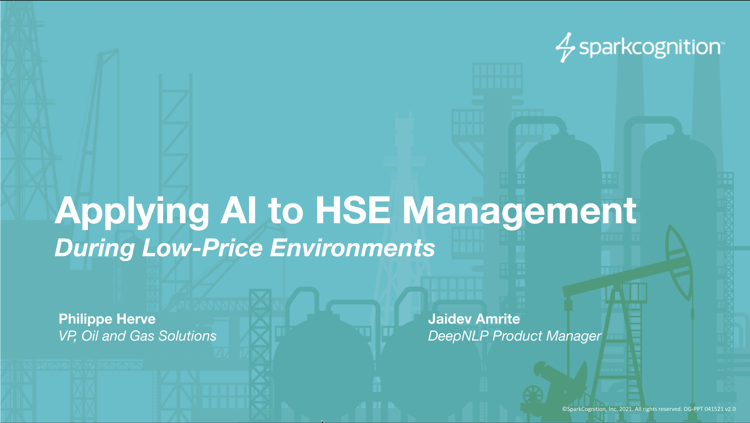 Applying AI to HSE Management