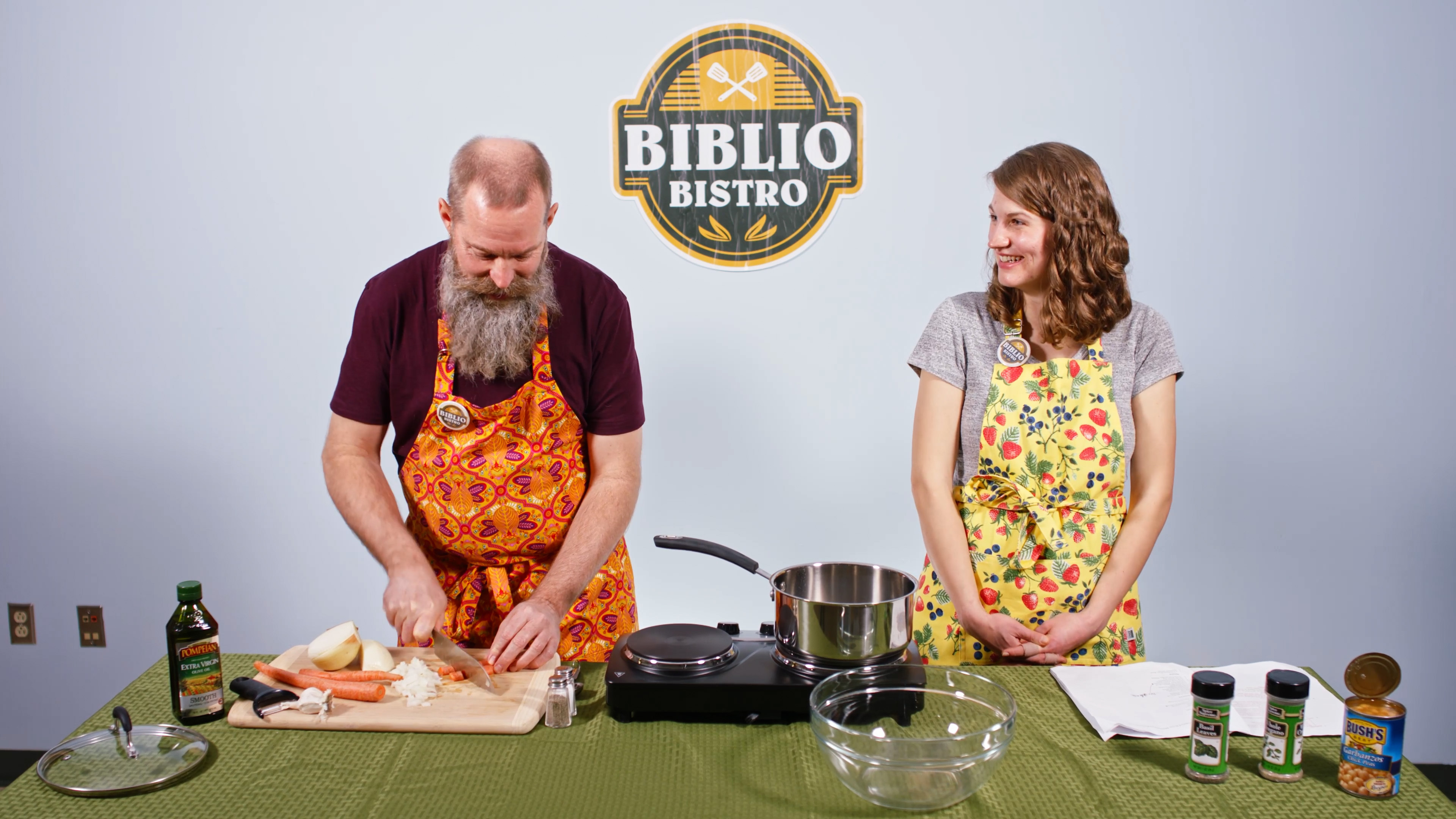 Minestrone Soup Biblio Bistro