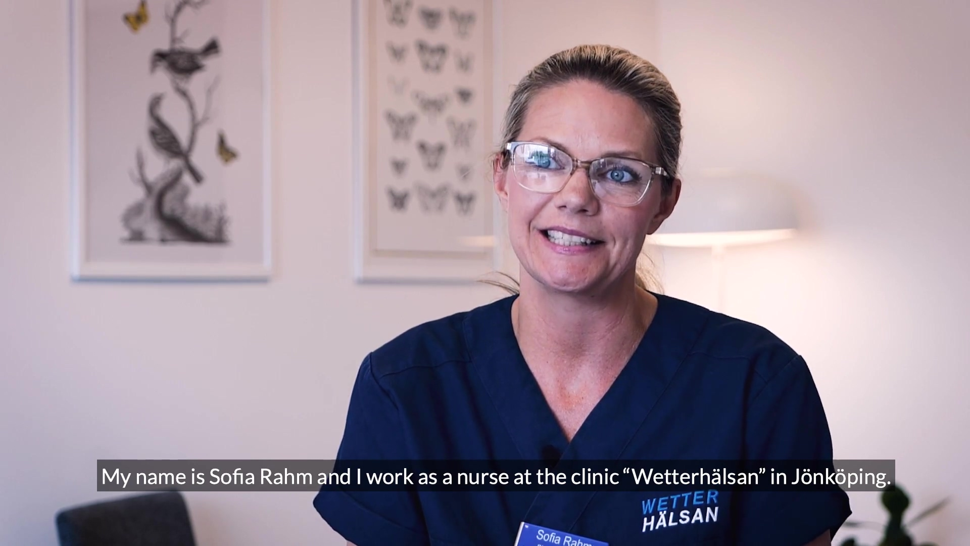 Interview with Wetterhälsan - with English subtitles