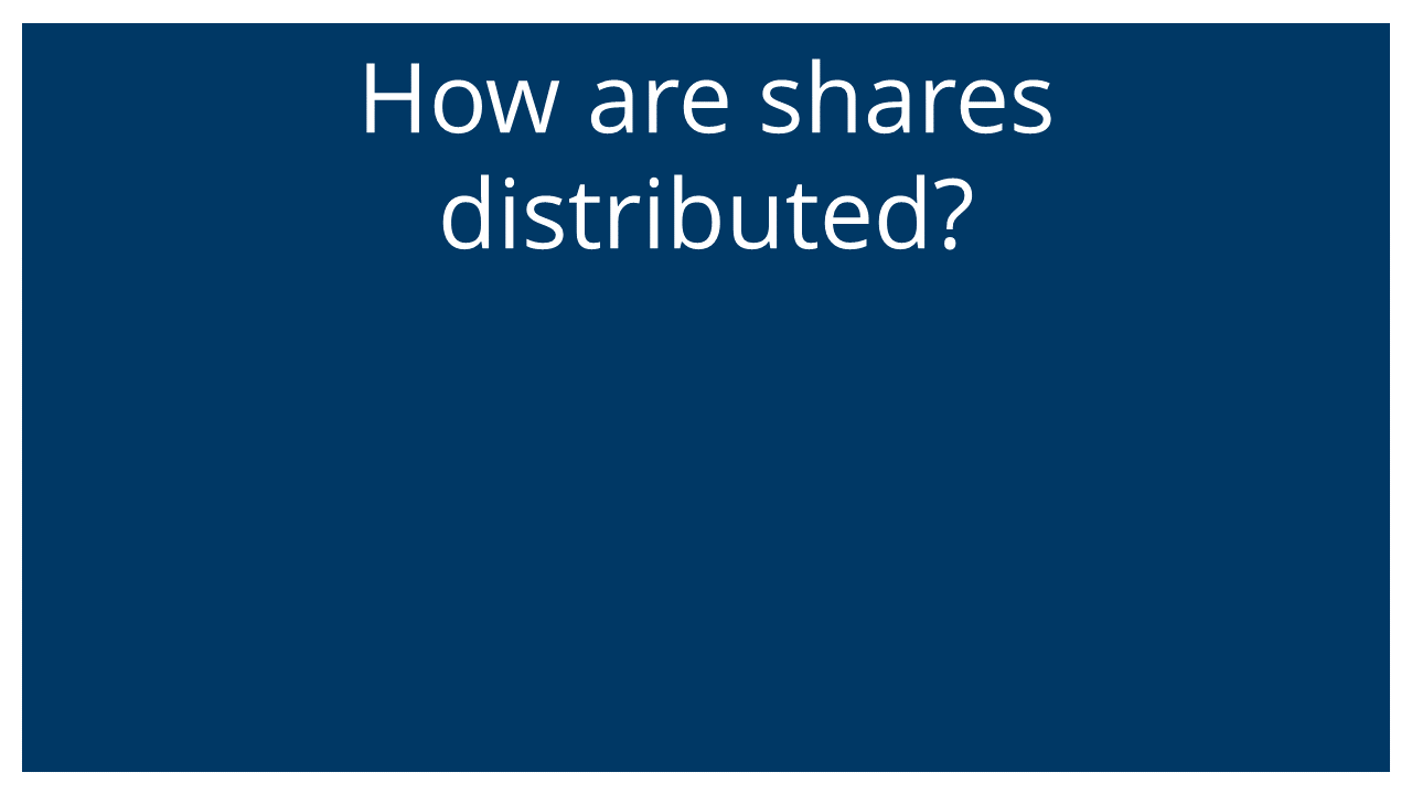 How are ESOP shares distributed? (Q&A Webinar)