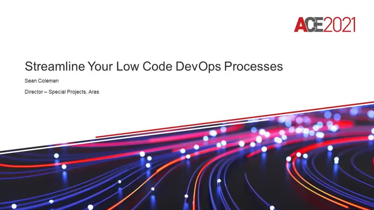 Streamline your Low Code DevOps Processes