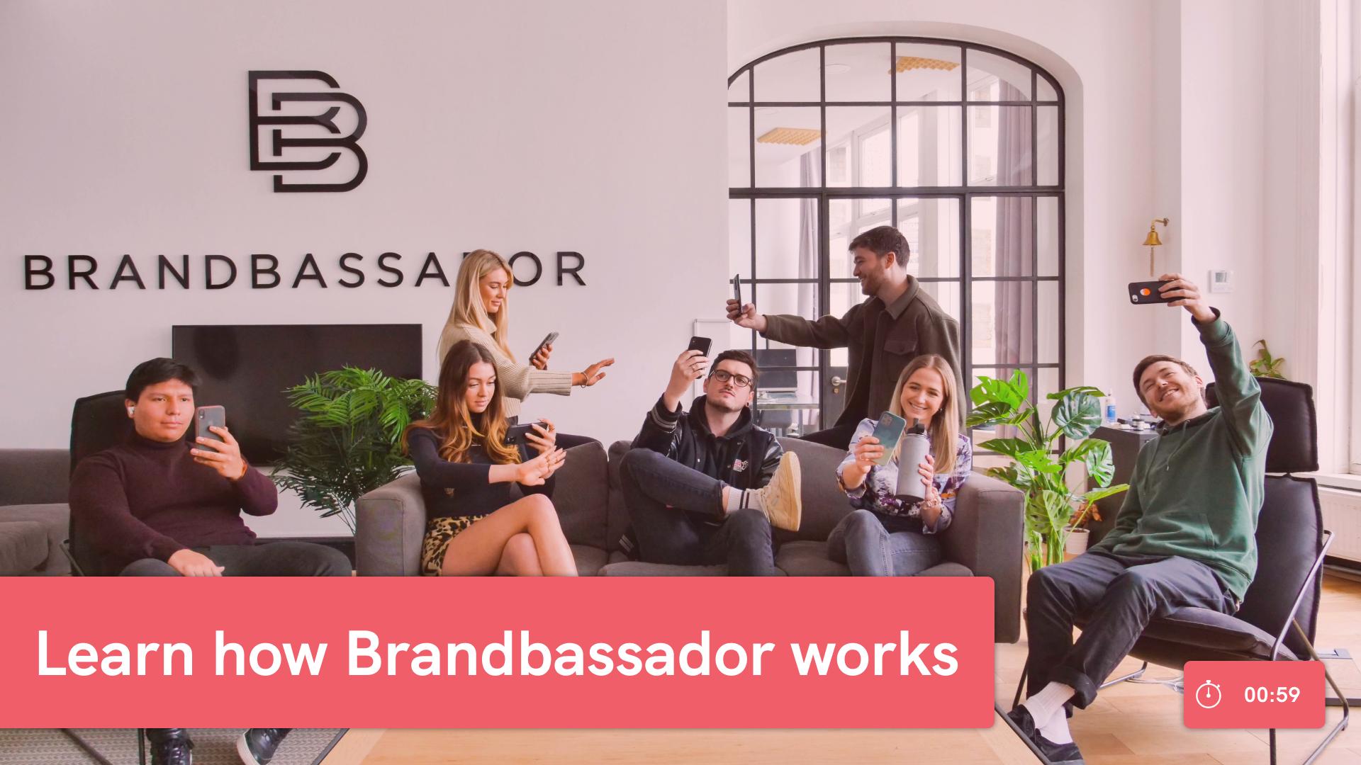 Brandbassador - the Ultimate Ambassador Management Platform for Fast Growing Ecommerce Brands