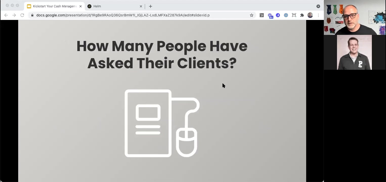 Kickstart 202104 - Poll - How Many Have Asked Their Clients
