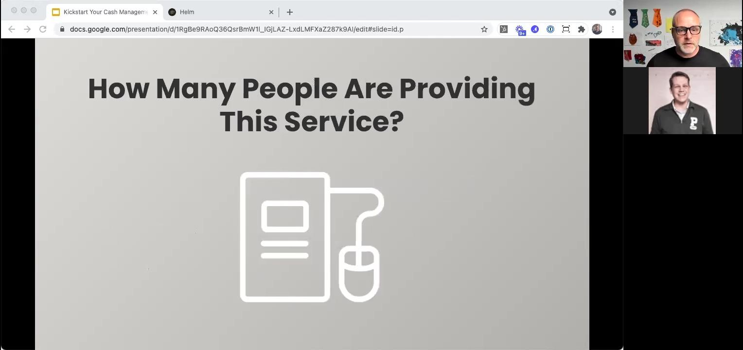 Kickstart 202104 - Poll - How Many Are Providing The Service