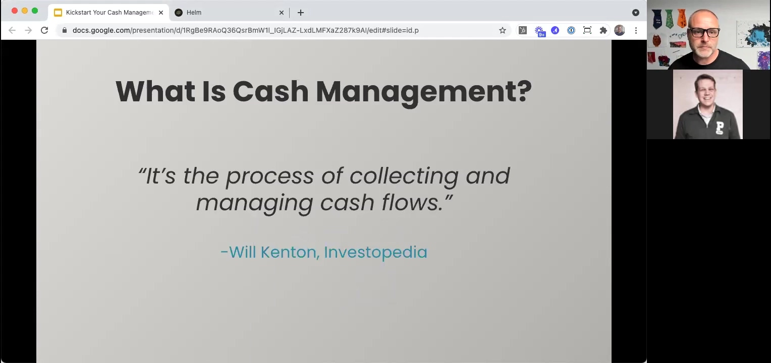 Kickstart 202104 - What Is Cash Management