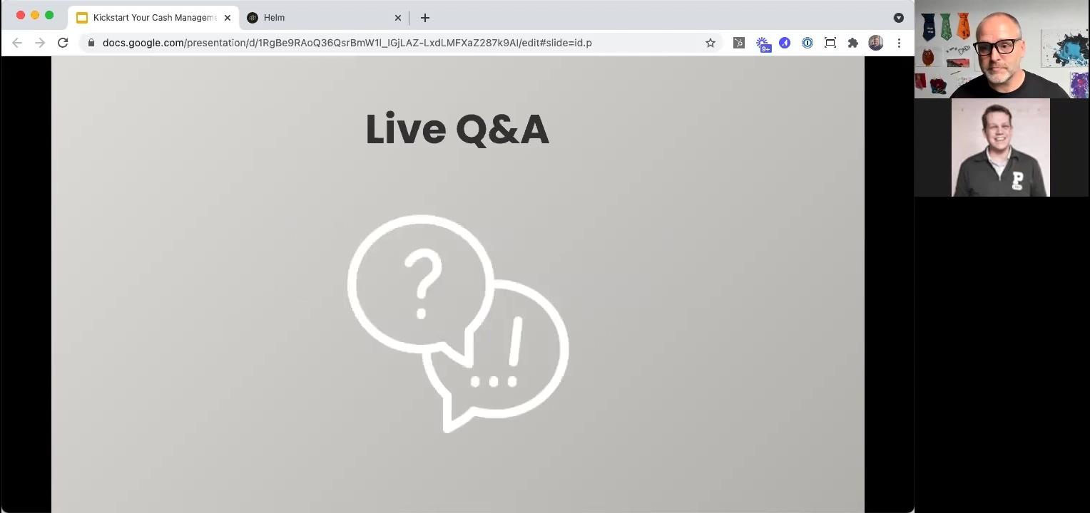 Kickstart 202104 - Live QA