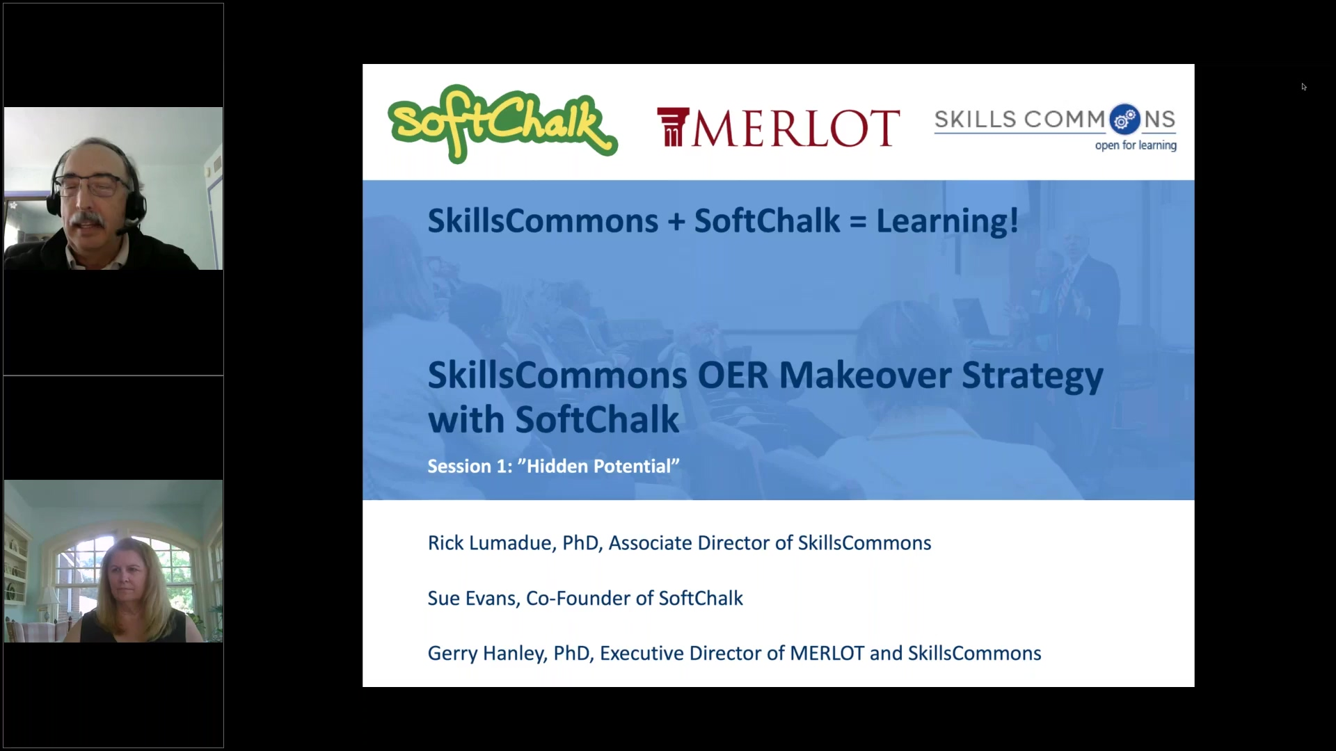 SkillsCommons OER Makeover Strategy with SoftChalk