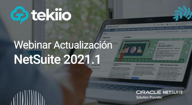 Webinar - Actualización NetSuite 2021.1
