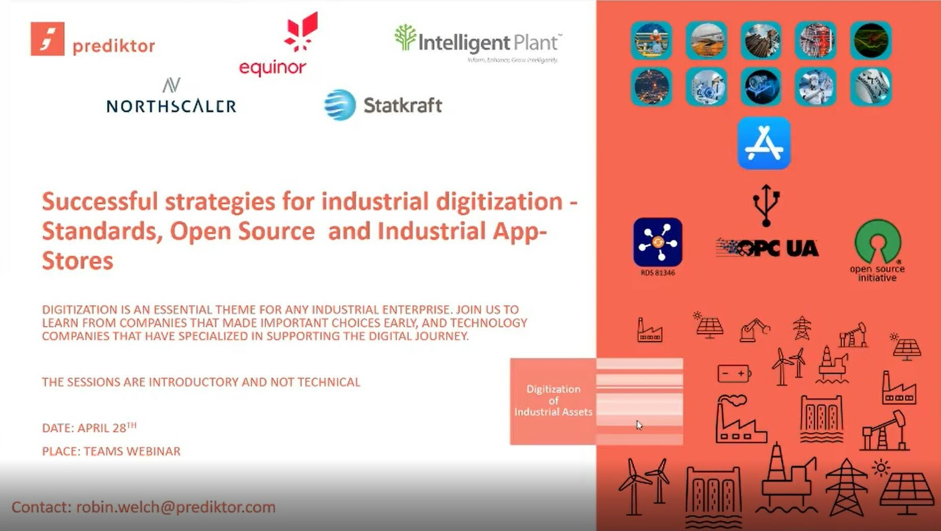 Successful strategies for industrial digitization- Standards, Open Source and Industrial App-Full Vi