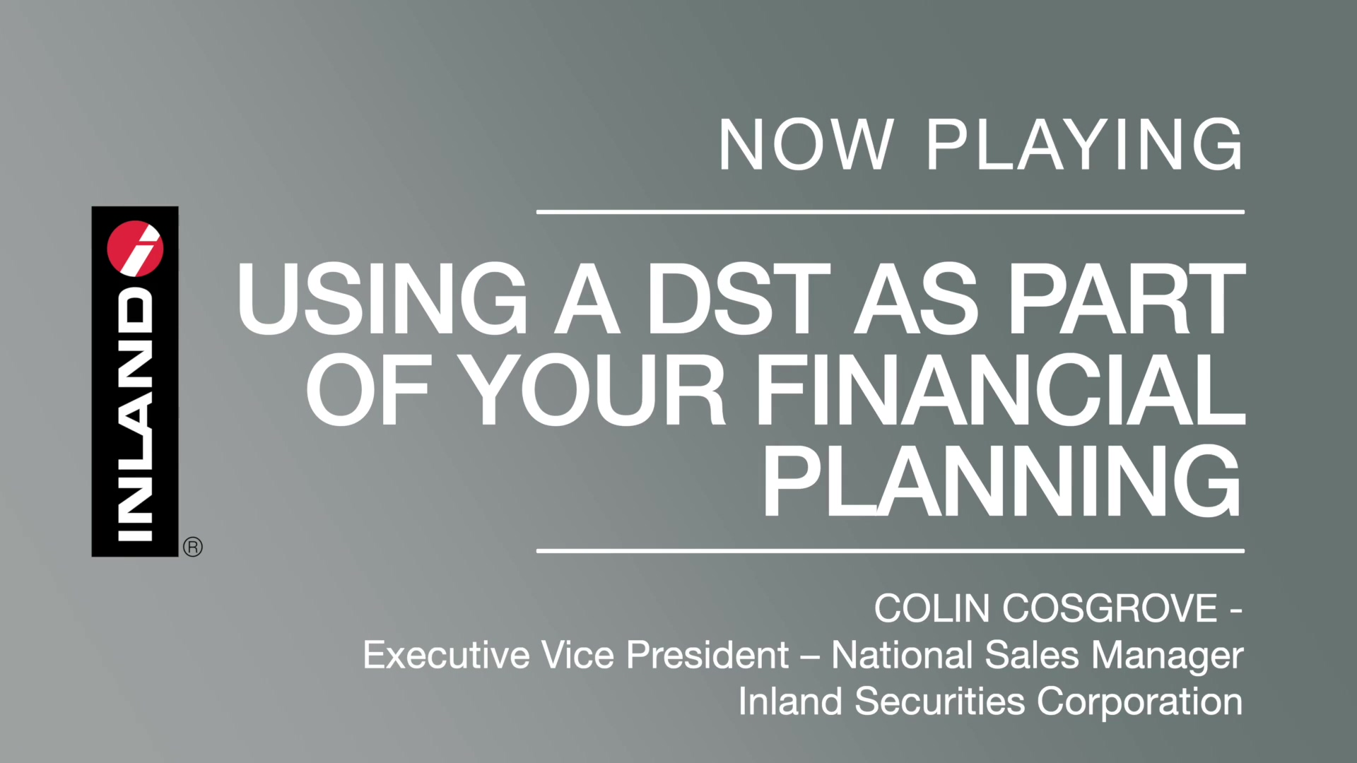 Using a DST as Part of Your Financial Planning (1)