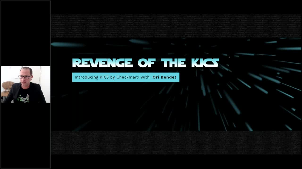 Webinar: REVENGE OF THE KICKS - Introducing KICS by Checkmarx