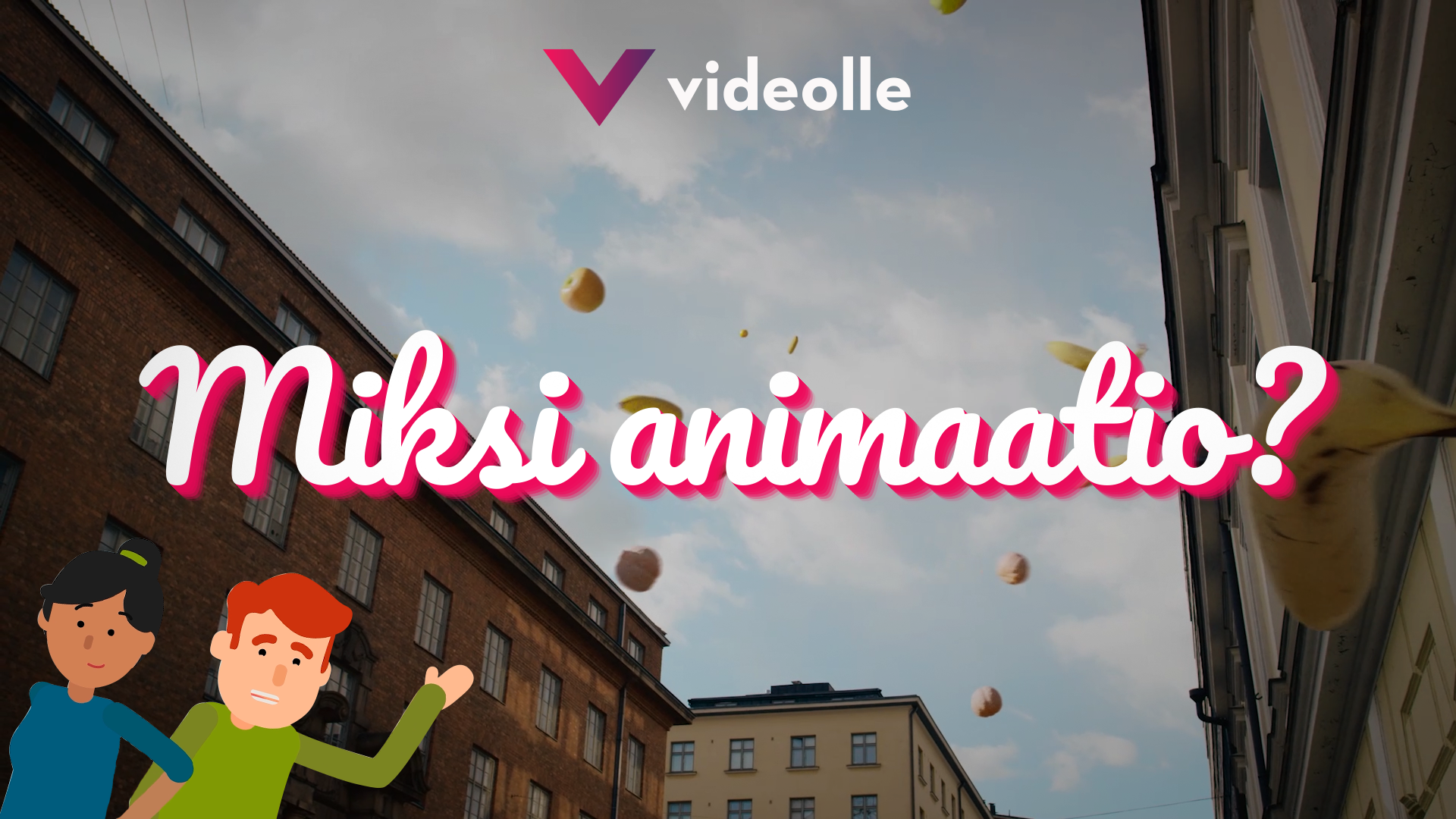 Videolle - Animaatiovideo showreel