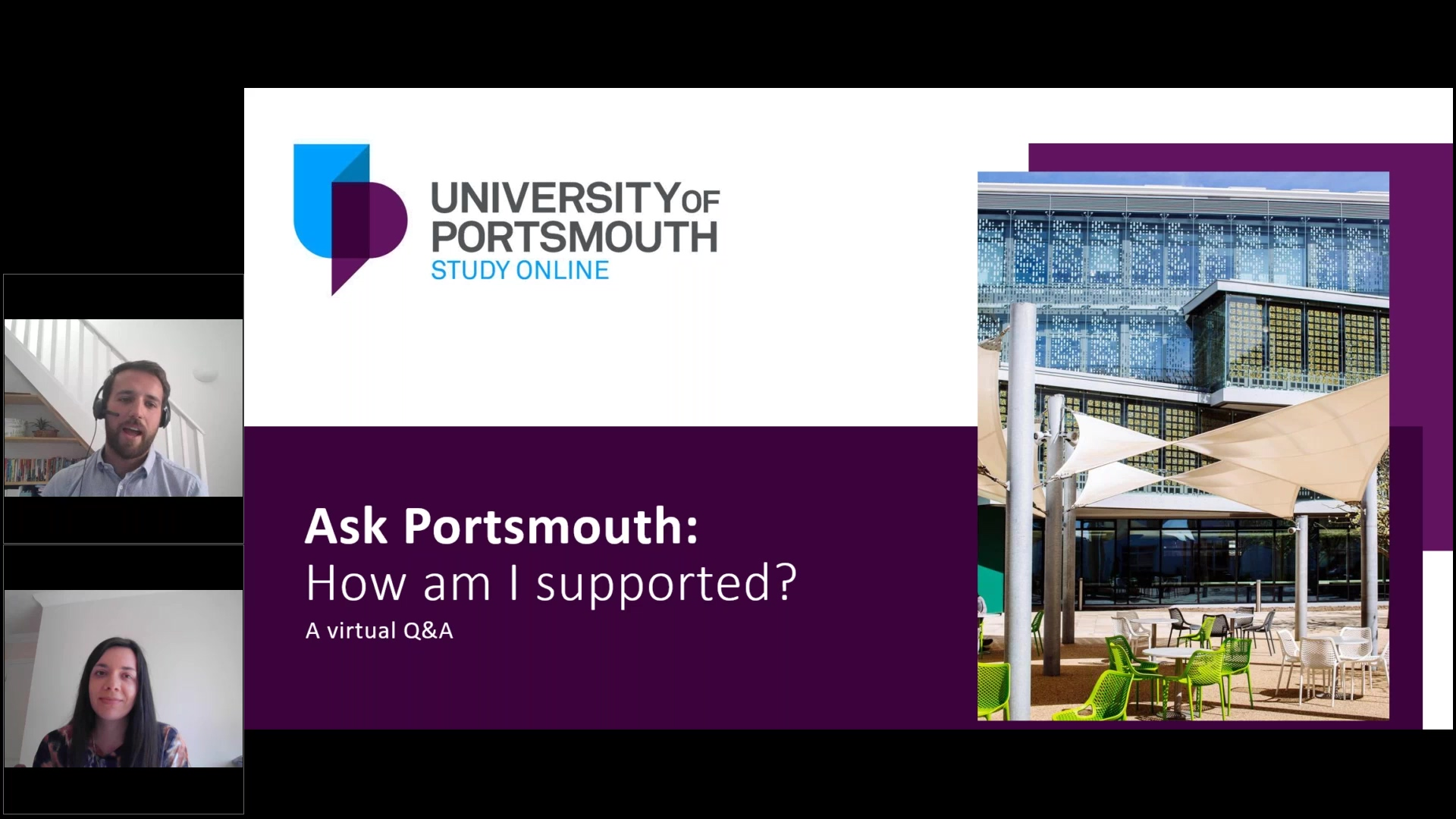 Ask Portsmouth_ How am I supported – our virtual Q&A