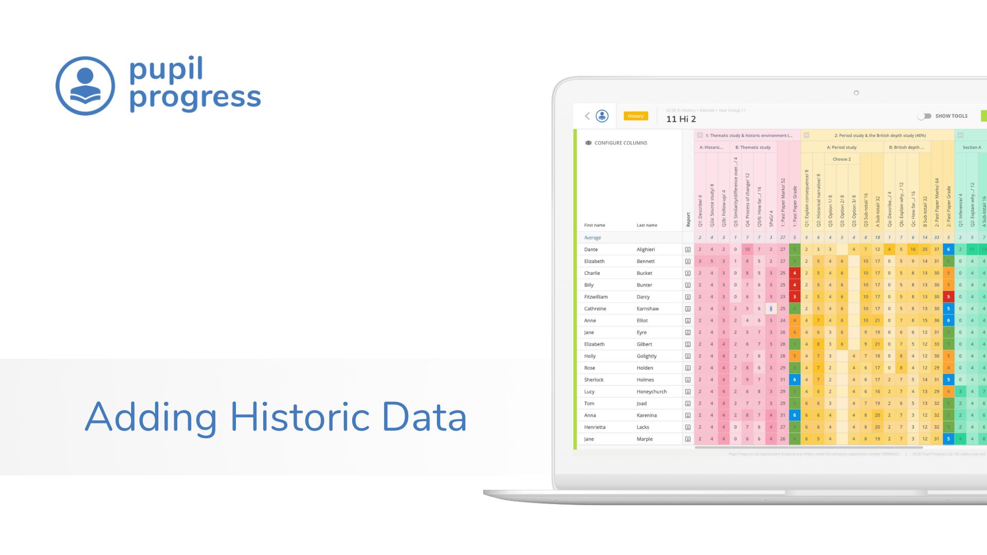 Adding Historic Data