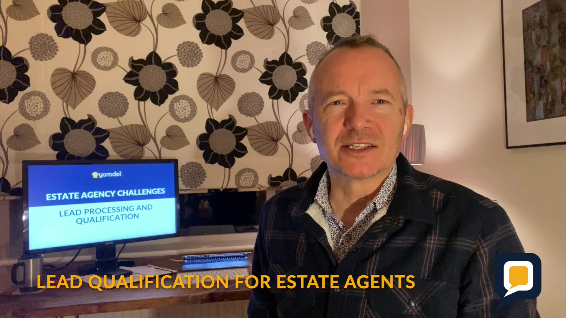 Lead Qualification with Live Chat for Estate Agents