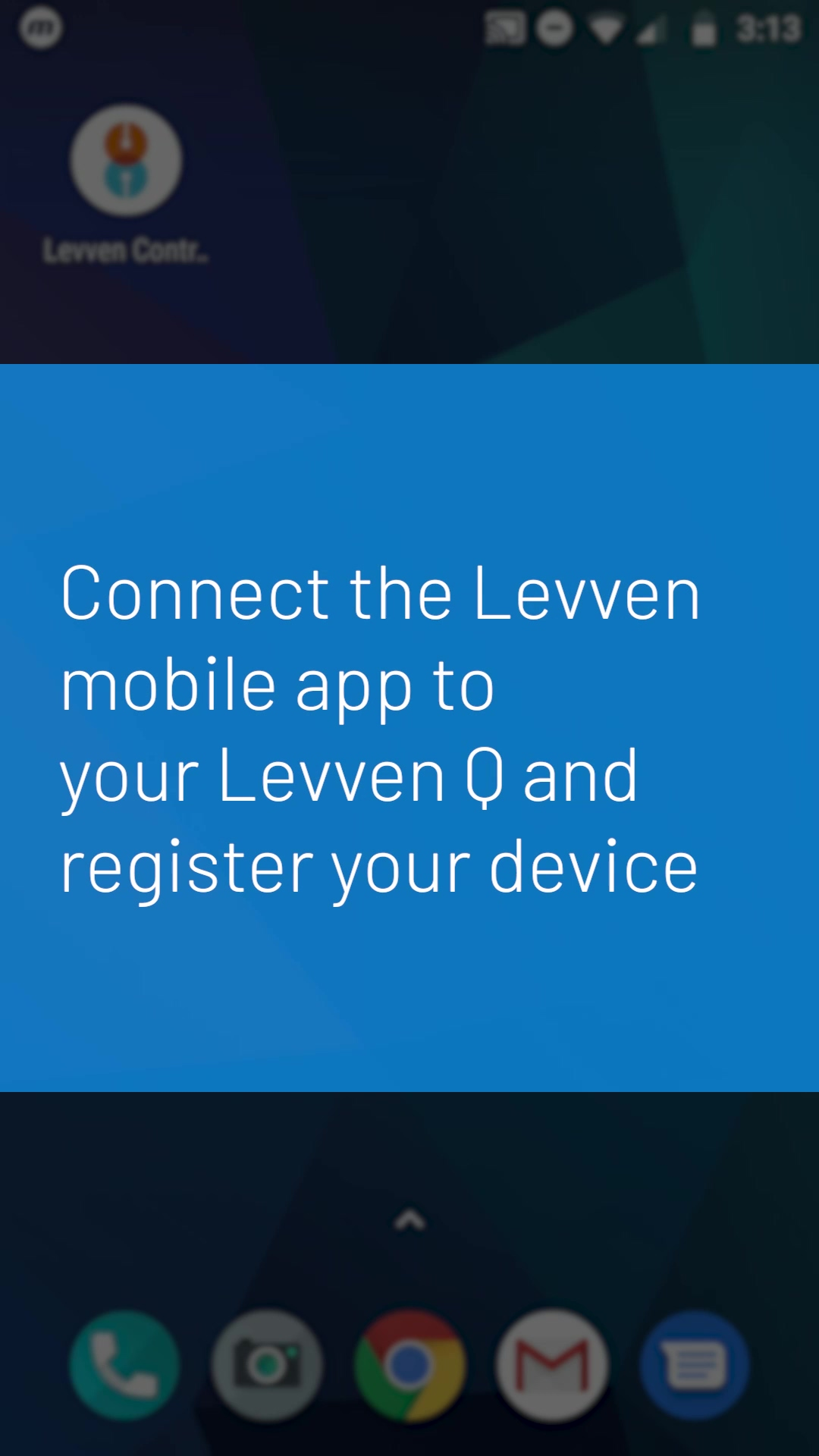 Levven App Connect to Levven Q First Time v2