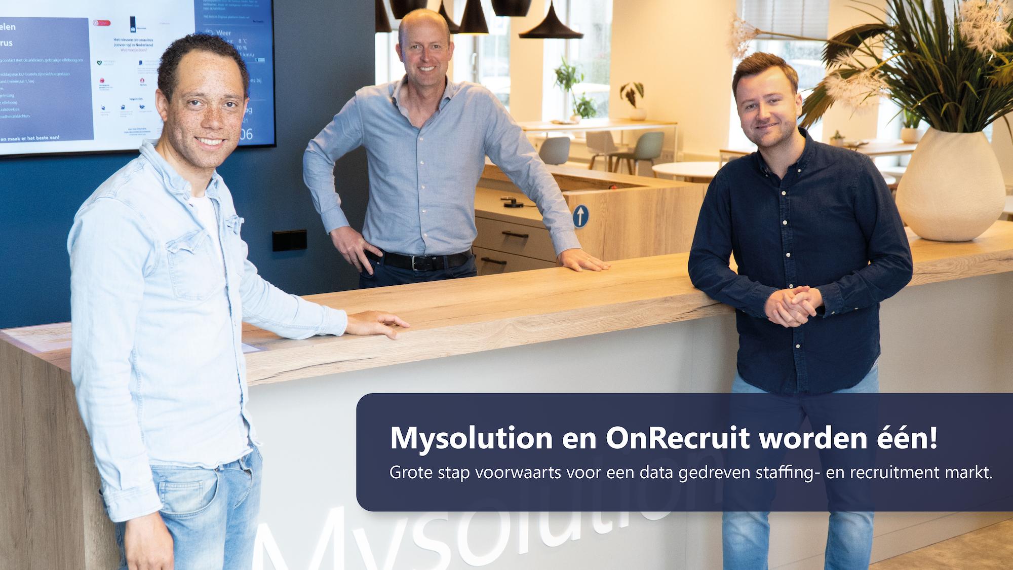 Mysolution en OnRecruit