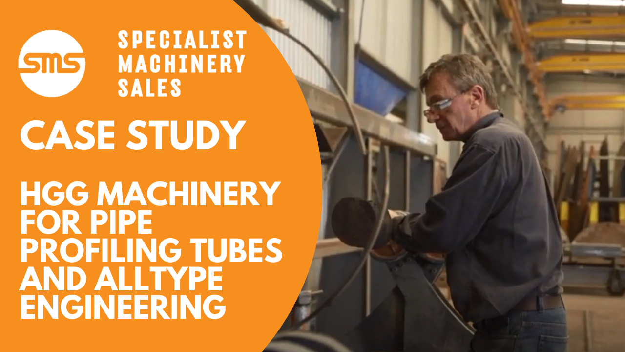 Case Study - Alltype Engineering and HGG Plasma Pipe Cutting Machine Specialist Machinery Sale