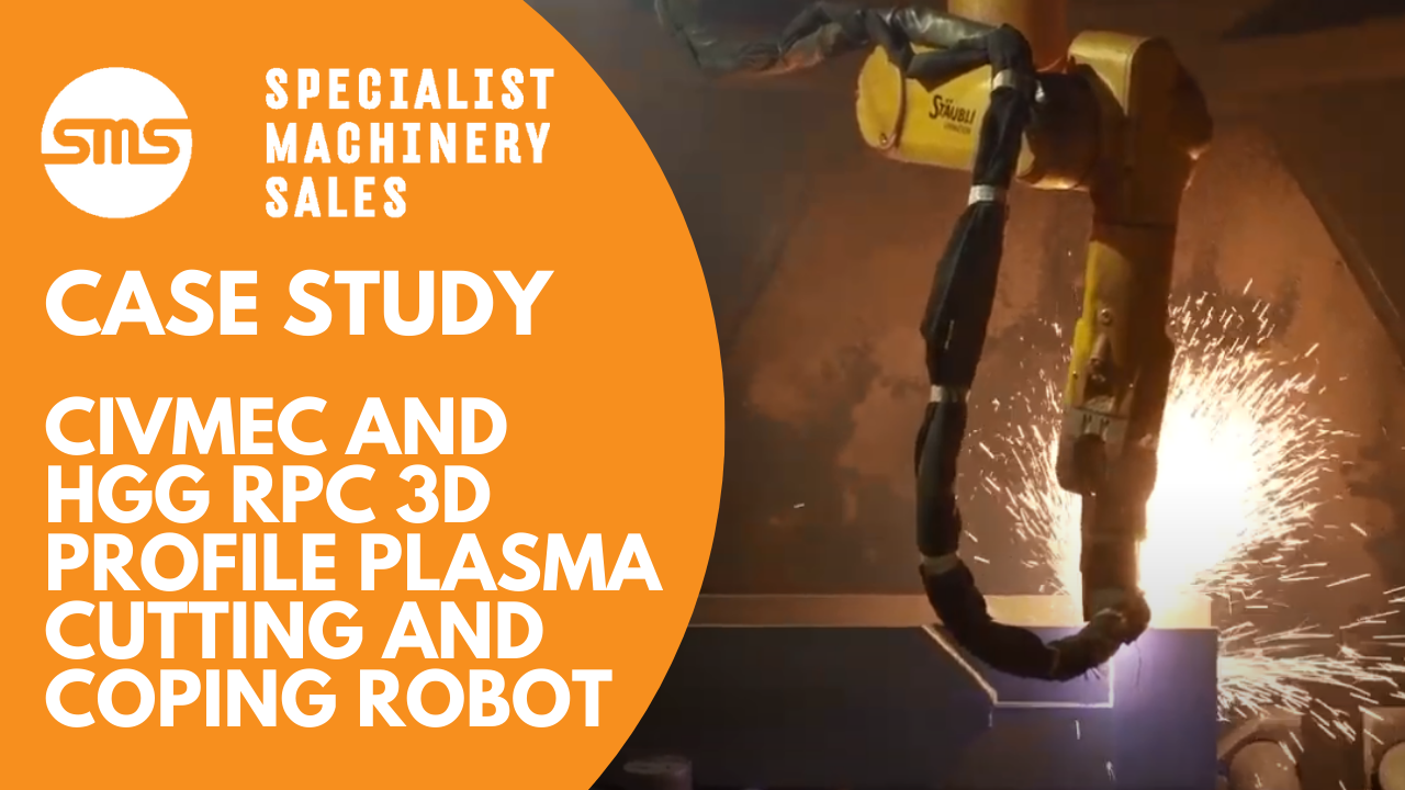 Case Study - Civmec and HGG RPC 3D Profile Plasma Cutting and Coping Robot Machine