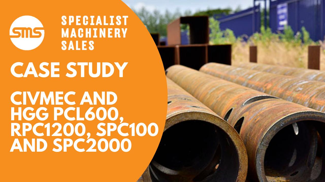 Case study HGG PCL600, RPC1200, SPC1000 and SPC2000 at Civmec Australia