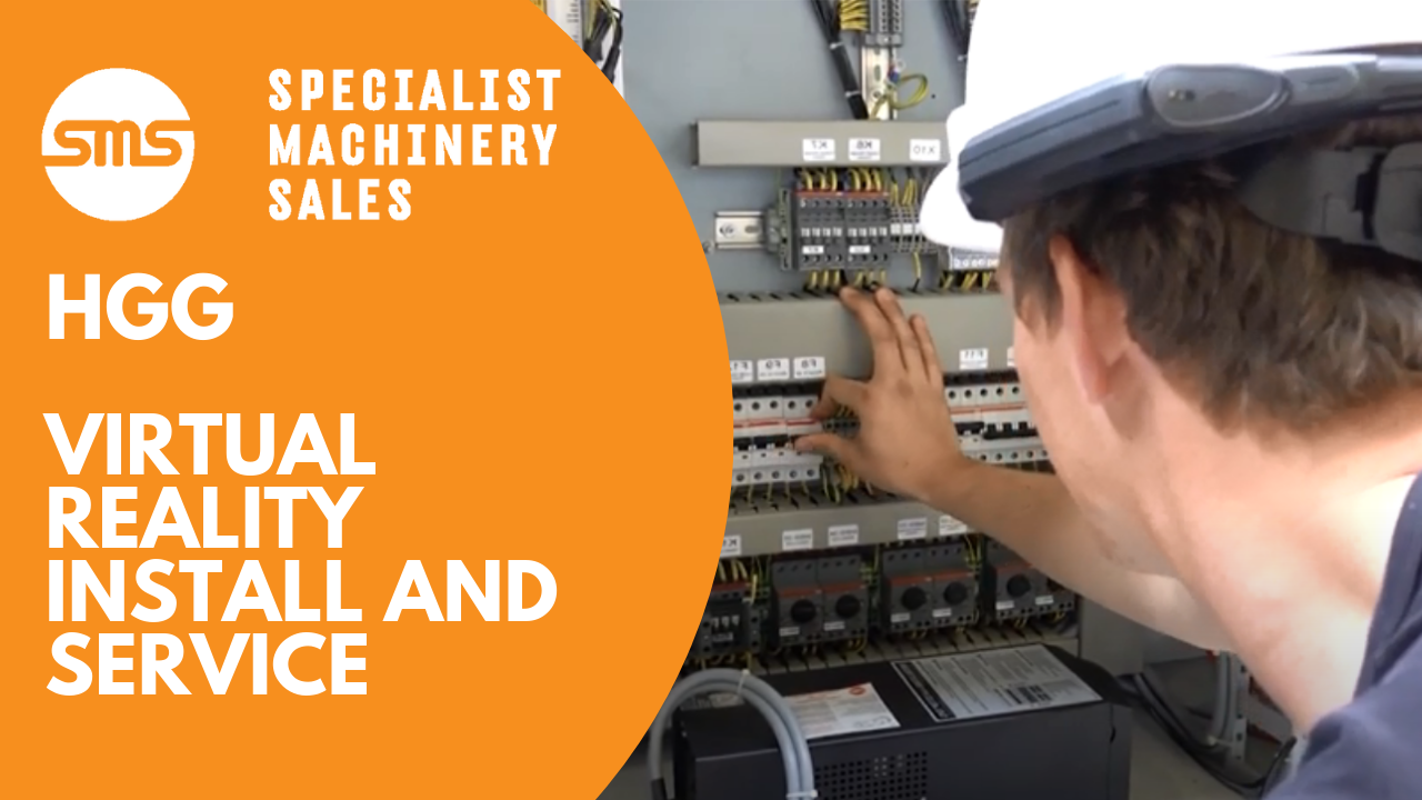 HGG Virtual Reality Install and Service Specialist Machinery Sales