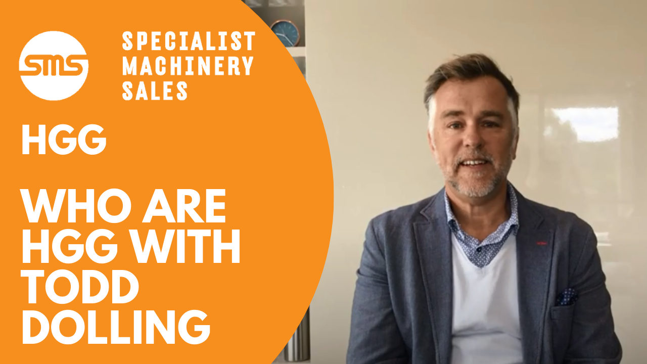 Introduction to HGG Netherlands with Todd Dolling Specialist Machinery Sales