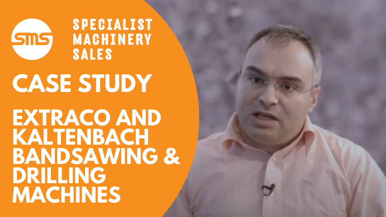 Case Study - ExtraCo and Kaltenbach Bandsawing & Drilling Machines Specialist Machinery Sales