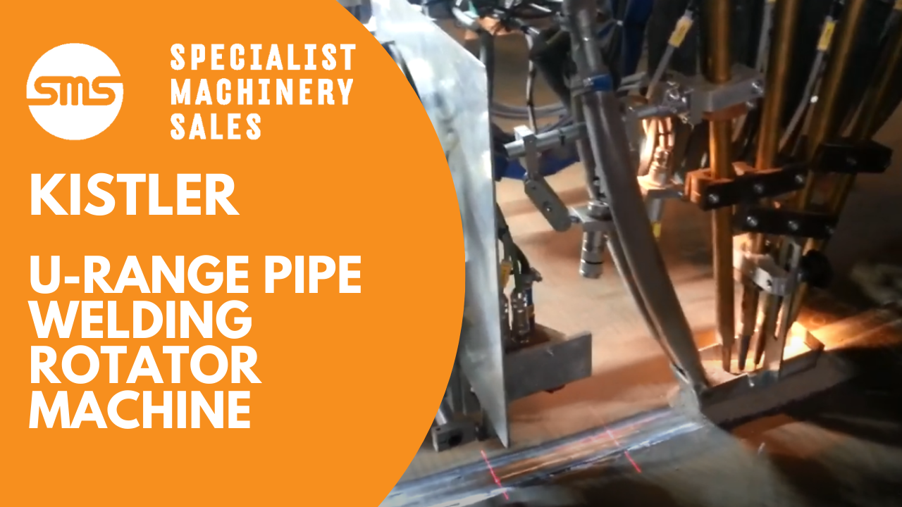 Kistler U-Range Pipe Welding Rotator Machine Specialist Machinery Sales