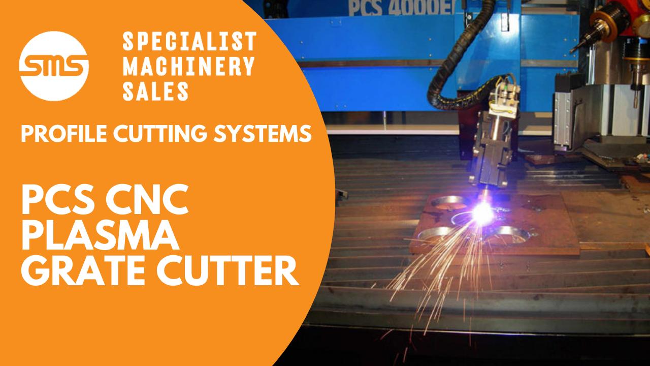 CNC PLASMA GRATE CUTTER