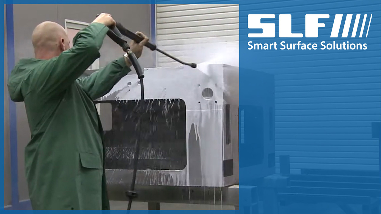 SLF Blast Systems, Painting Installations & Conveyor Systems for the Machine Construction Sector
