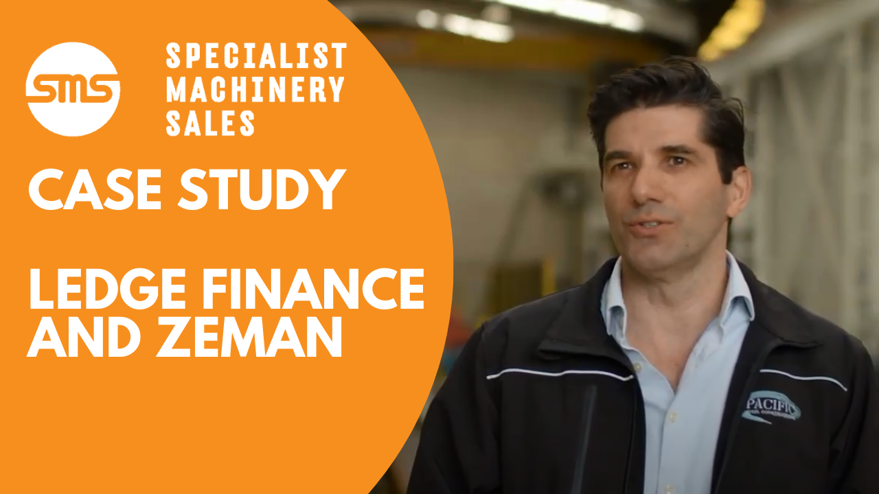 Case Study - Ledge Finance and Zeman Steel Beam Assembly _ Specialist Machinery Sales
