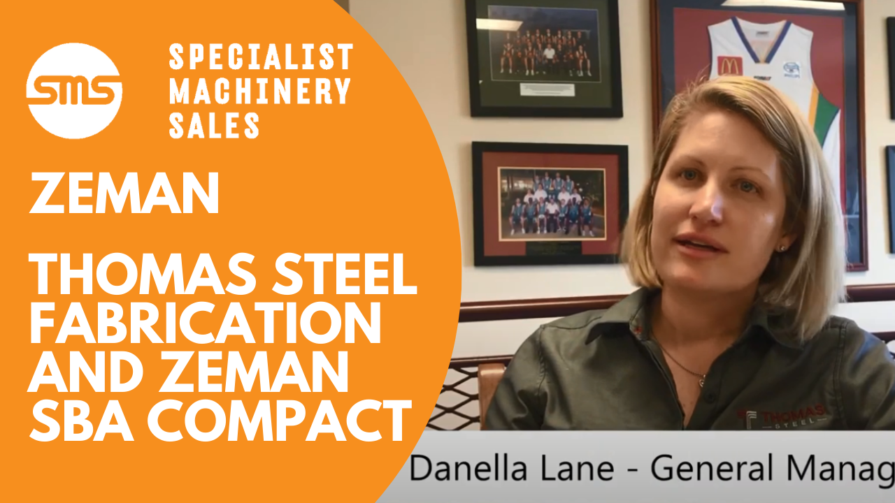 Case Study - Thomas Steel Fabrication and Zeman Compact SBA Specialist Machinery Sales