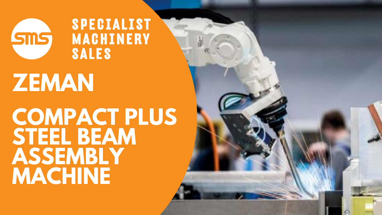 Zeman Compact 2 Plus Steel Beam Assembly Machine Specialist Machinery Sales