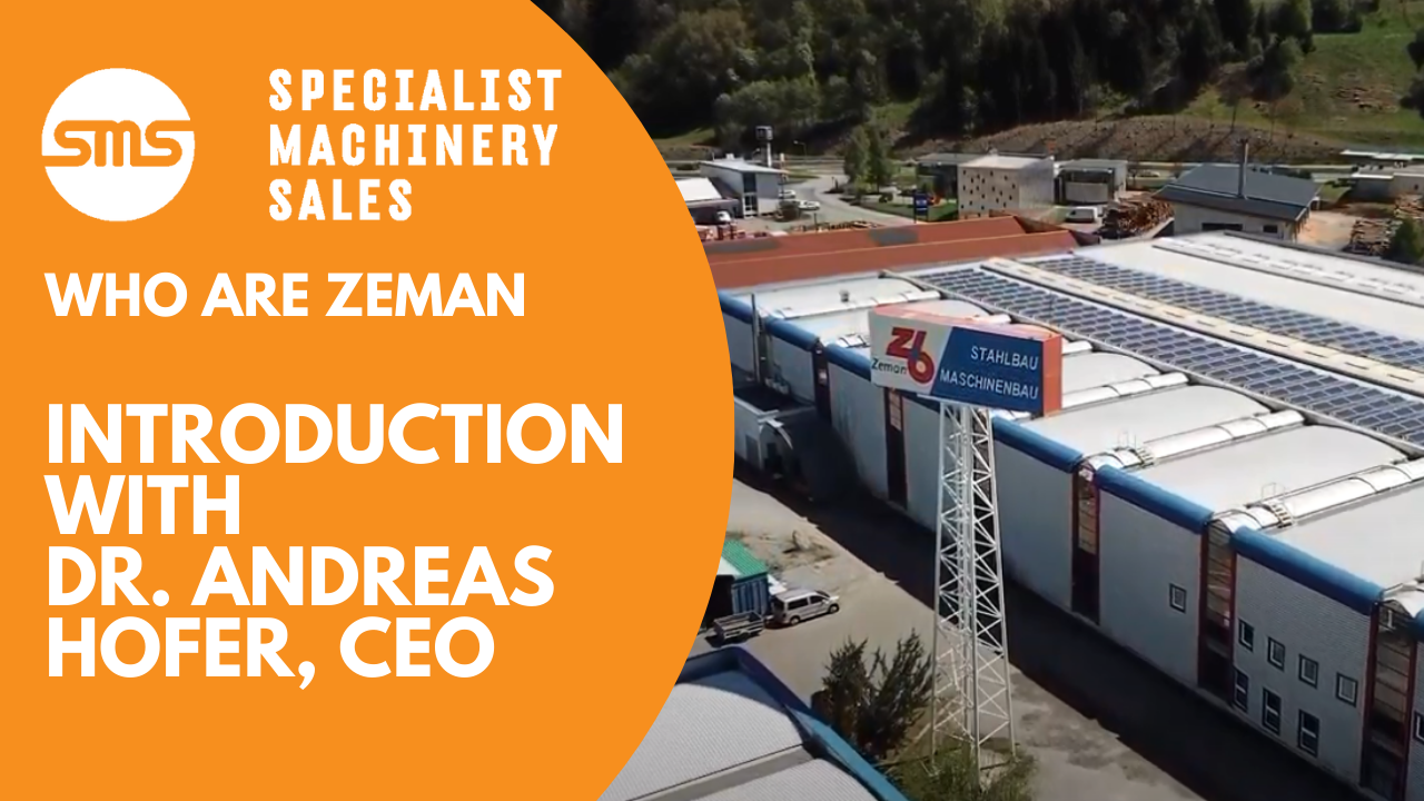 Who are Zeman - Introduction with Dr. Andreas Hofer Specialist Machinery Sales