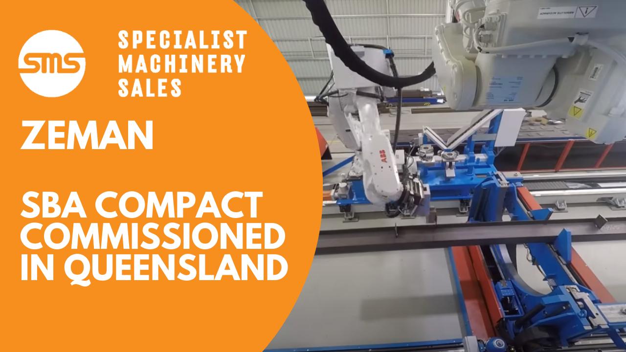 Zeman SBA Compact Commissioned in Queensland Specialist Machinery Sales