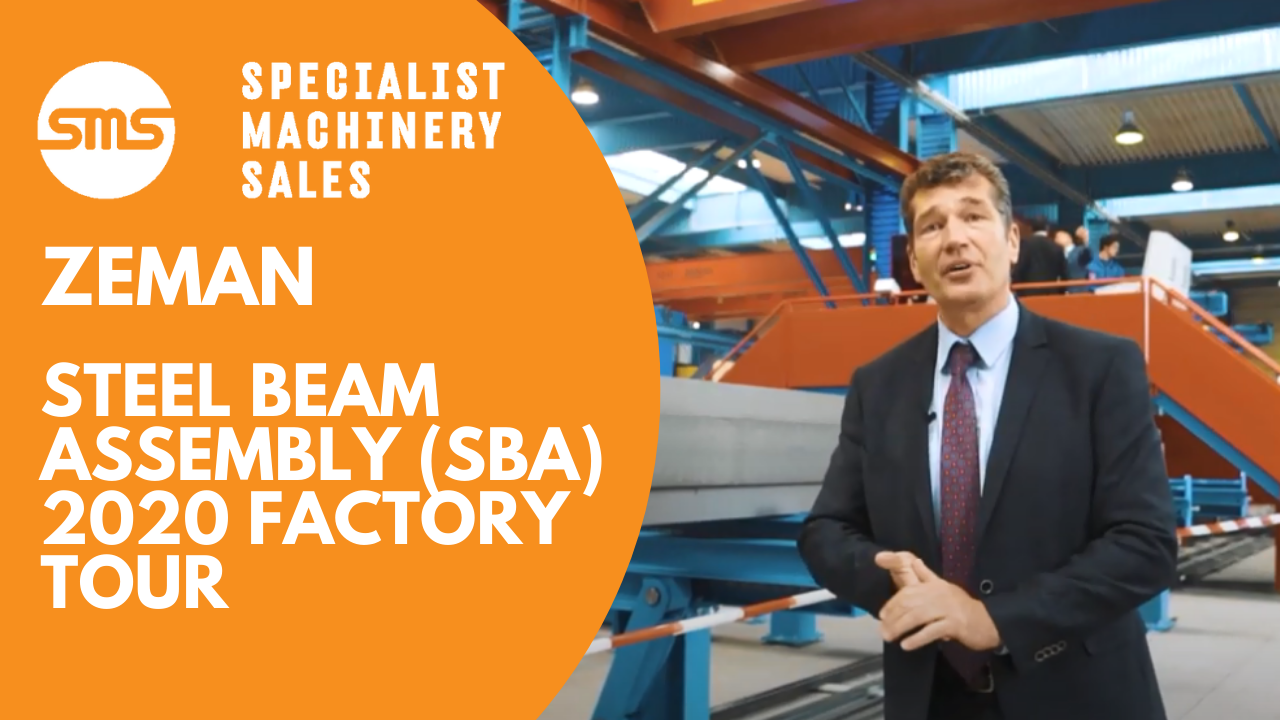 Zeman Steel Beam Assembly 2020 Factory Tour Specialist Machinery Sales