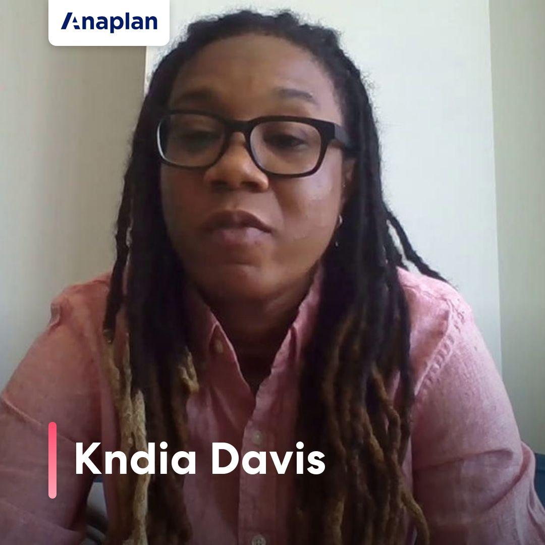 Kndia Davis_Anaplan for All