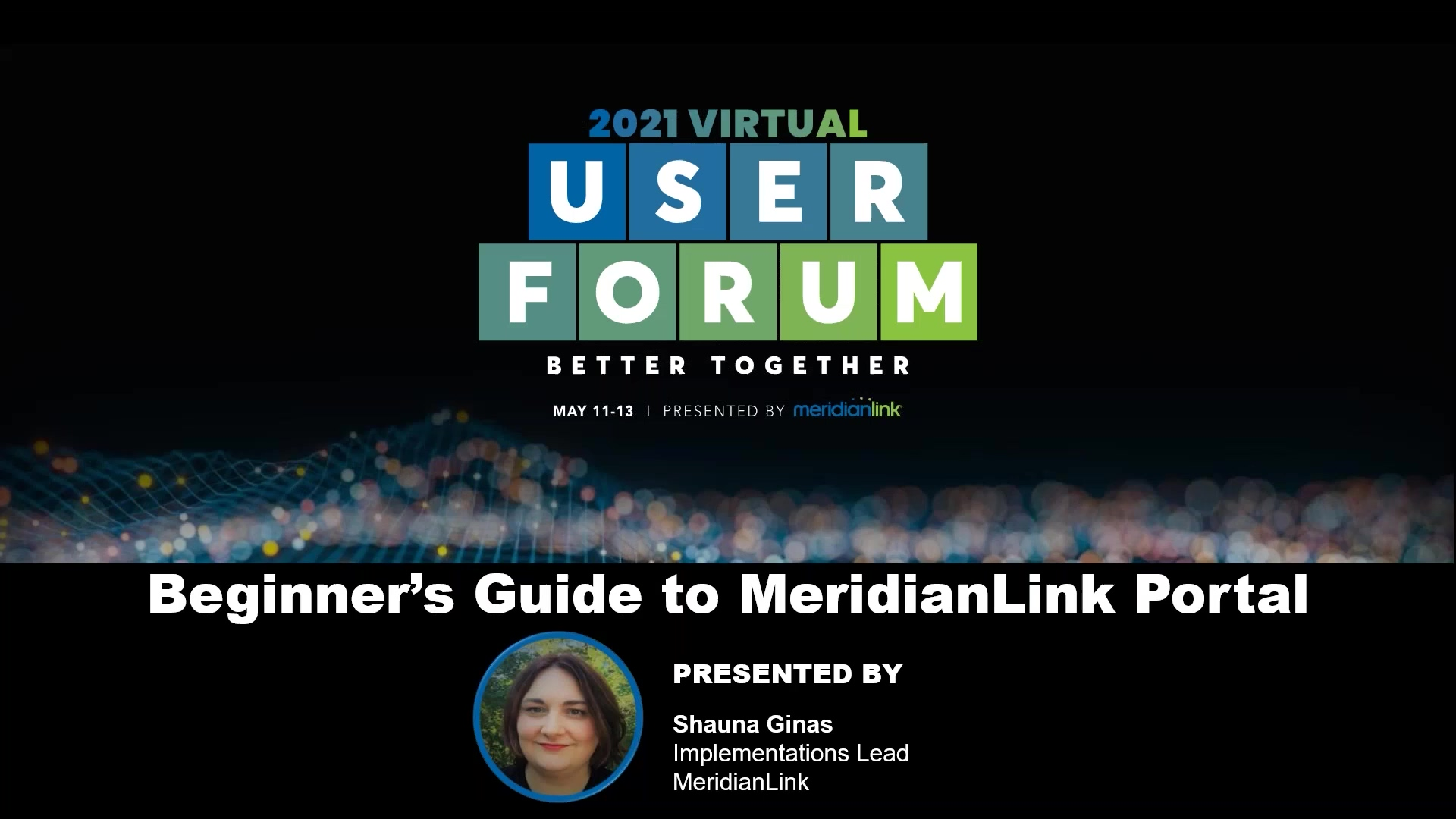 The Beginners Guide to MeridianLink Portal