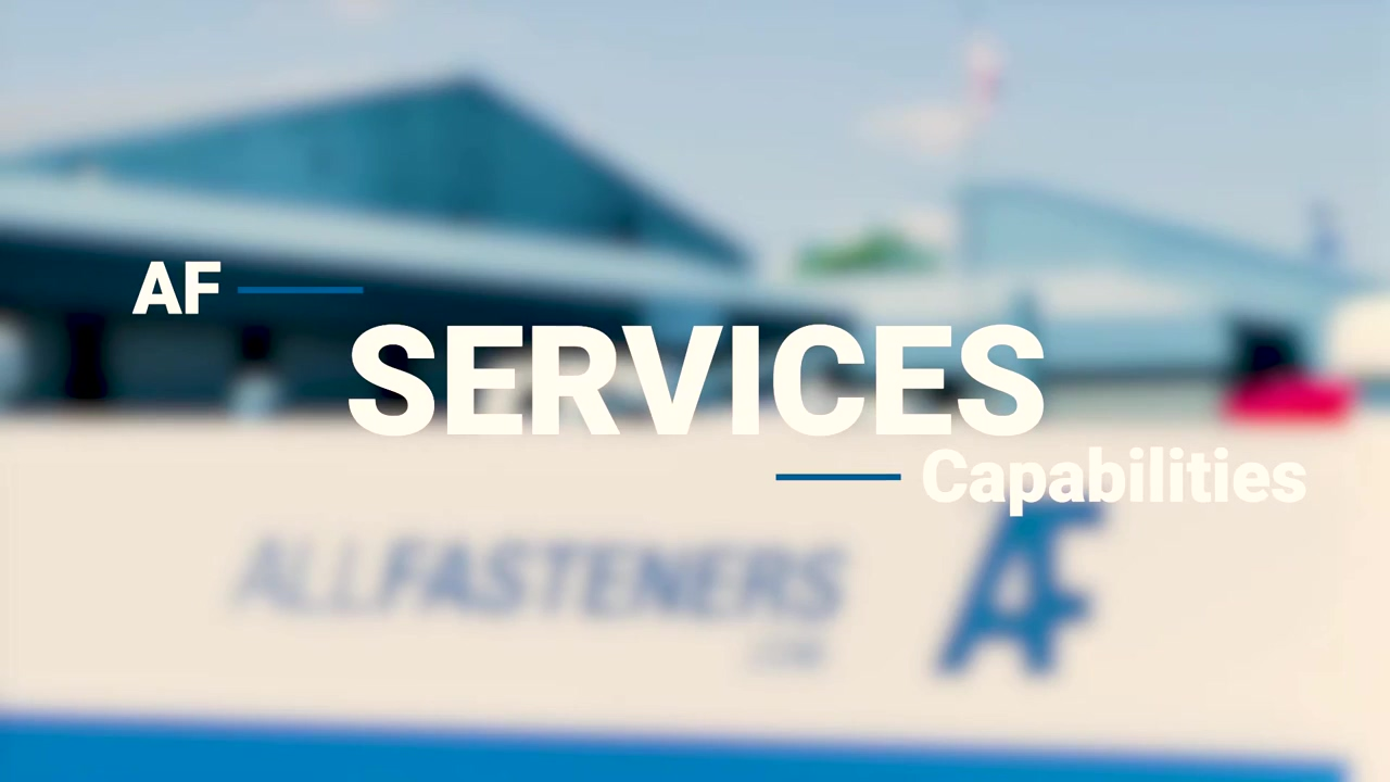 Allfasteners Services - What We Can Offer You