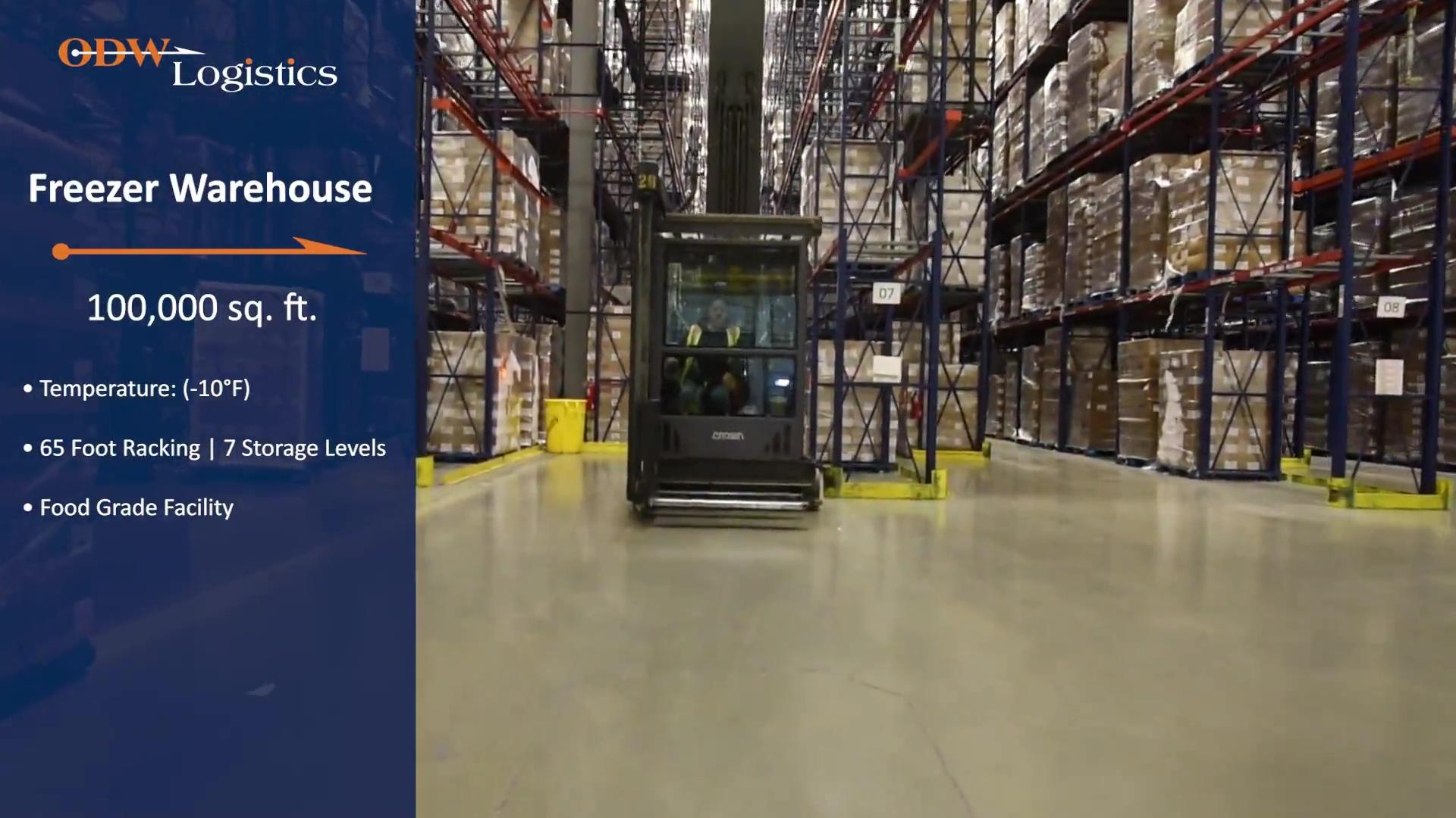ODW Logistics Cold Chain Facility