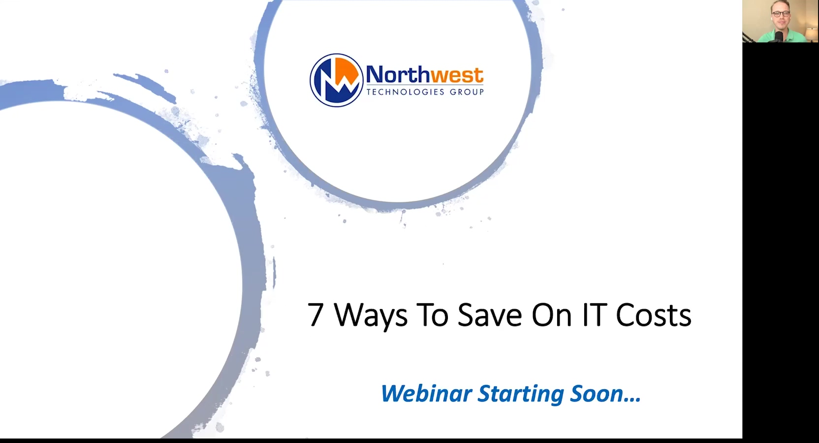 Webinar - 7 Ways To Save On IT Costs