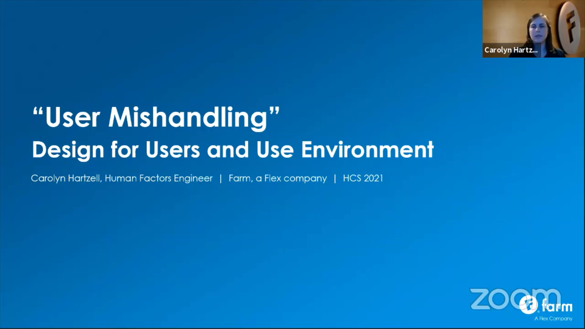 """""""User Mishandling"""" Design for Users and Use Environment"""