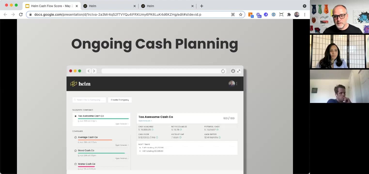 Cash Flow Health Score - Ongoing Cash Planning