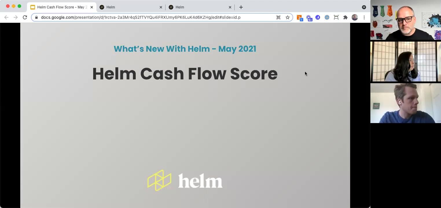 Cash Flow Health Score - Main