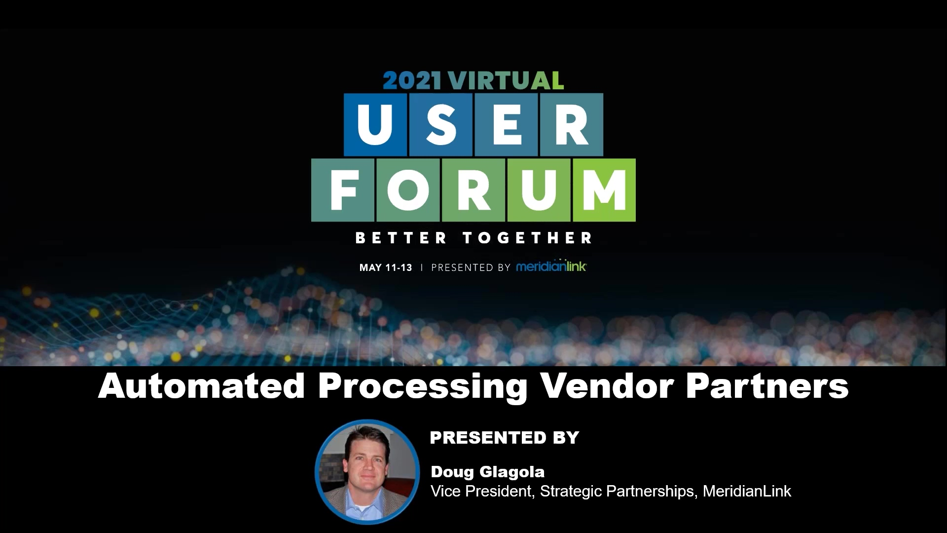 Automated Processing Vendor Partners