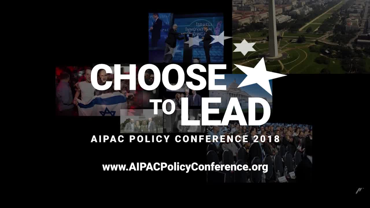 AIPAC Policy Conference Choose To Lead Promo