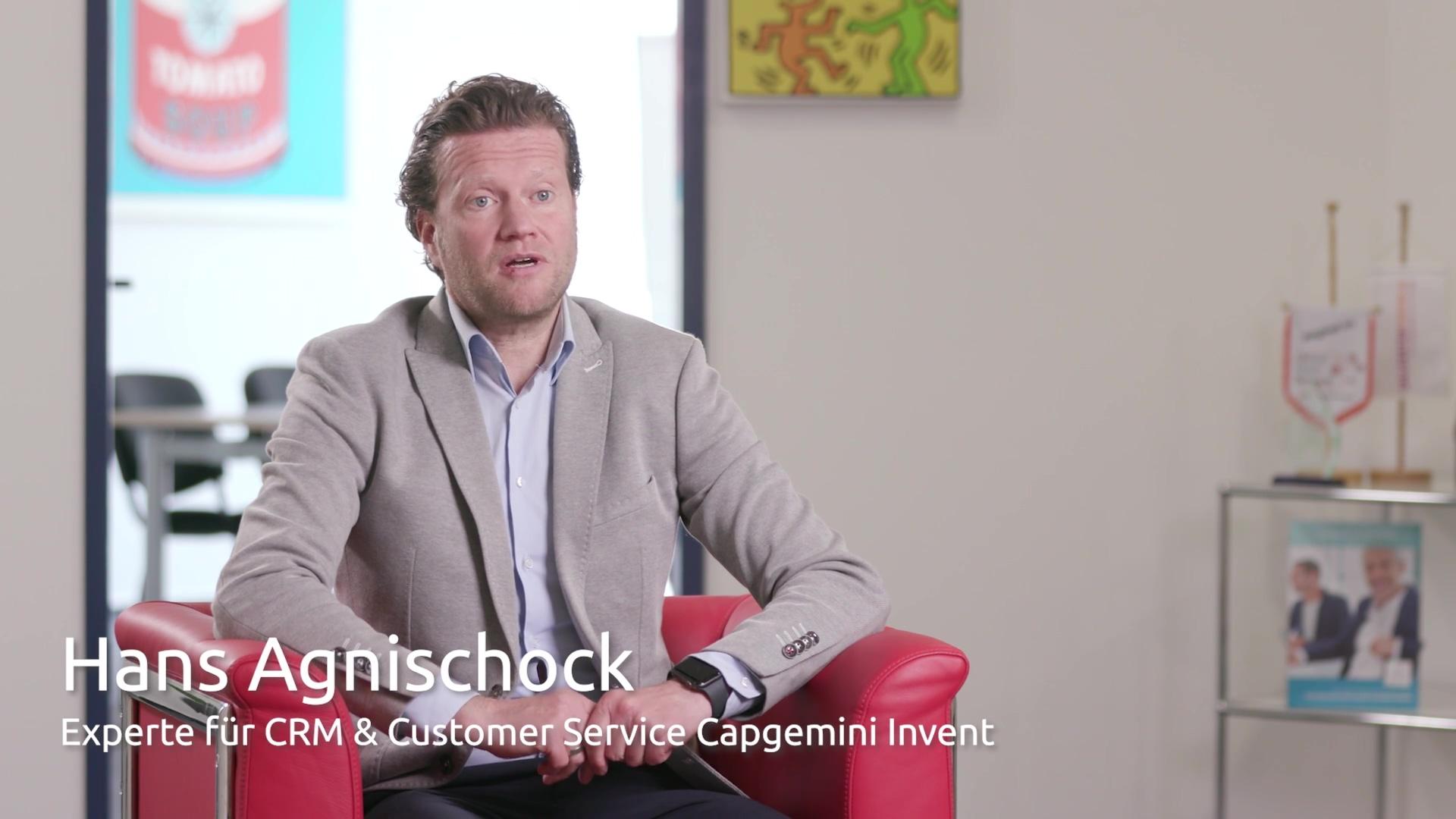 Partner Capgemini Invent  Hans Agnischock