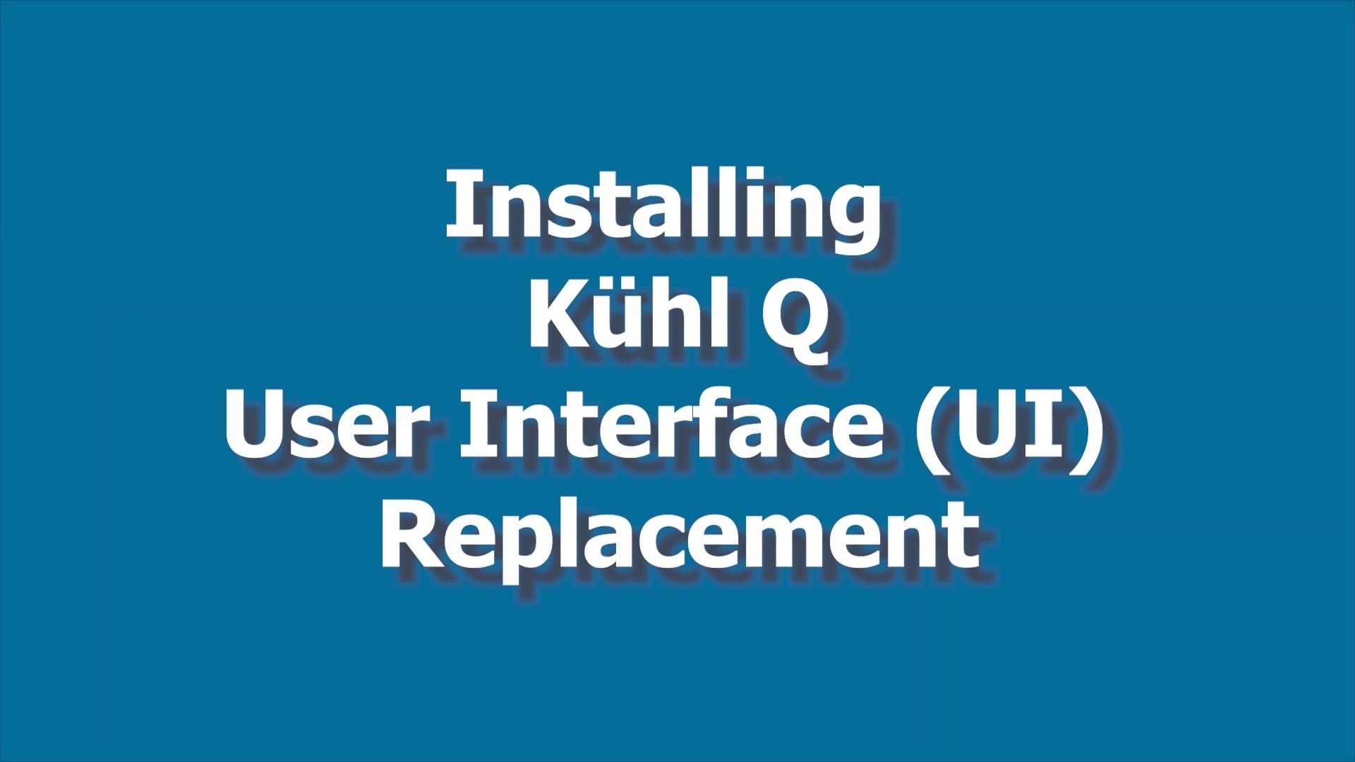 Kuhl Q IU Board Install