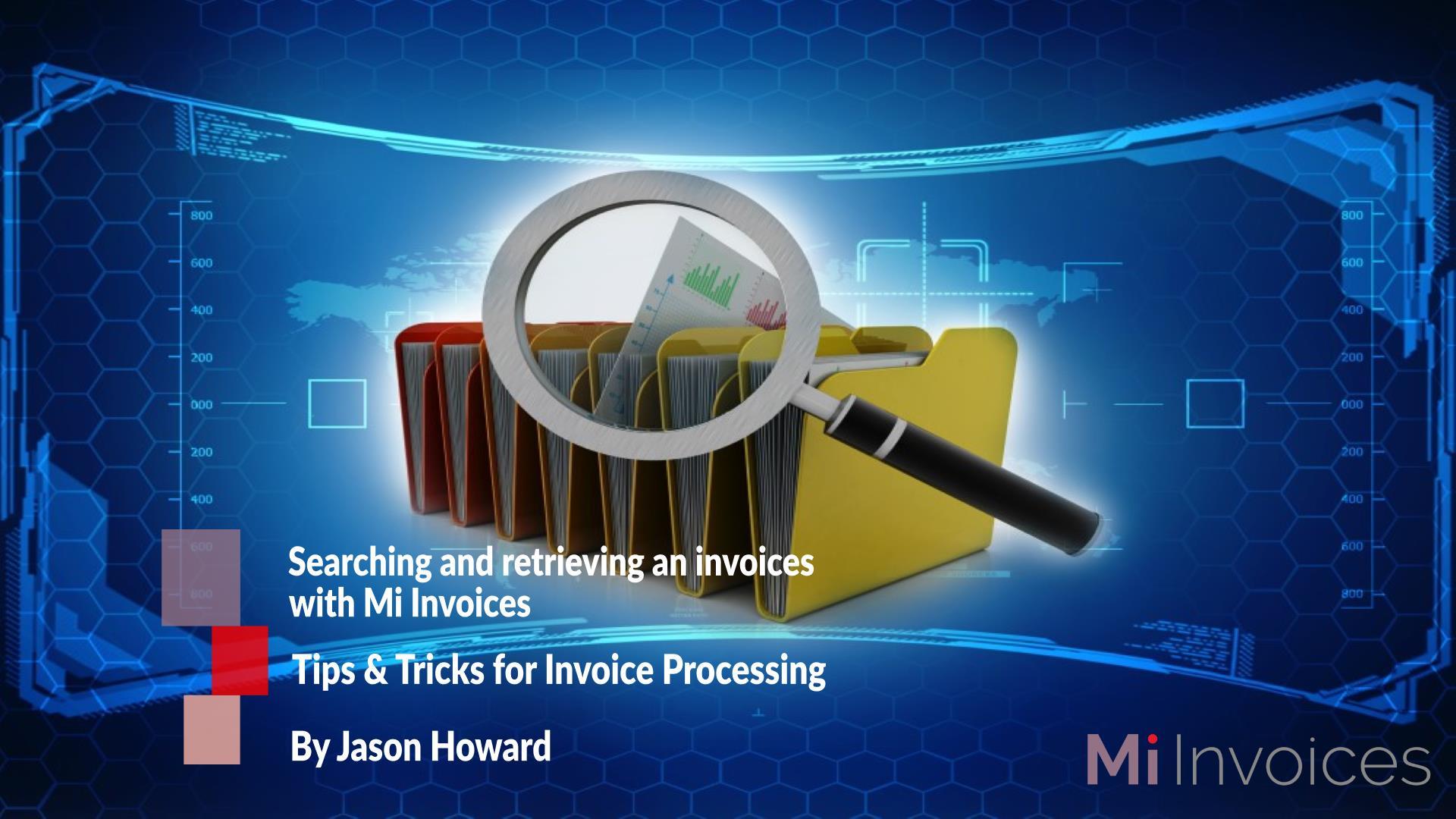 Mi Invoices Search & Retrieve
